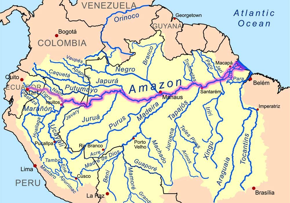 Destination Delta – a trip down the Amazon