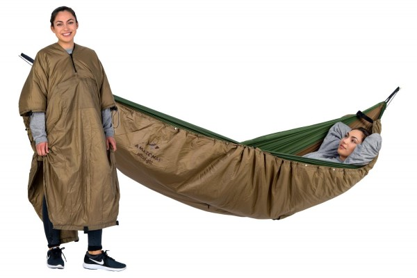 2-in-1 Underquilt-Poncho