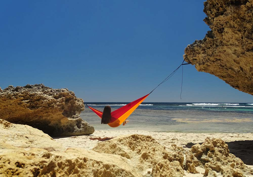 Hanging up hammocks safely – here's what you should keep in mind!