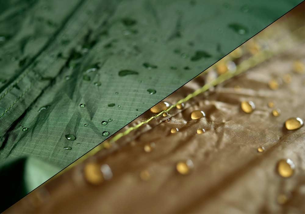 AMAZONAS Hängematten Tarps: Material & Beschichtung